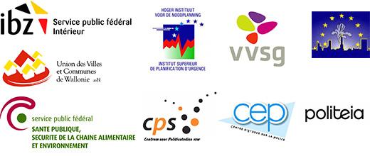 IBZ, Hoger Instituut, VVSG, BXL, Wallonie, Volksgezondheid, CPS, CEP, Politeia.