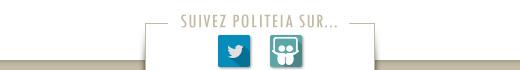 Suivez politeia sur twitter / slideshare